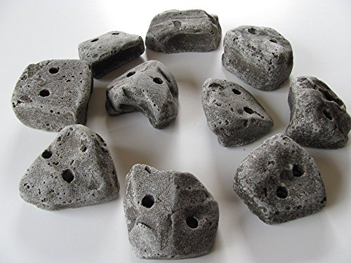 25 Screw on Climbing Holds by Rocky Mountain Climbing Gear