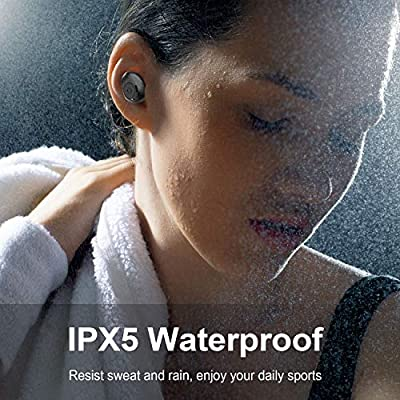 Wireless Earbuds EDECUS TE1 Bluetooth 50 Wireless Earbuds 35H Playtime HiFi Bass Stereo Noise