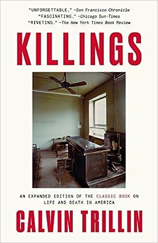 Killings Calvin Trillin 9780399591891 Amazon Books