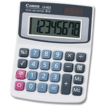 com canon ls z handheld calculator electronics canon ls 82z handheld calculator
