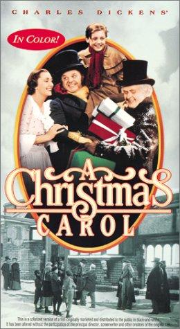 Amazon.com: A Christmas Carol (Colorized) [VHS]: Reginald Owen ...