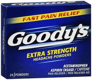 Goody's Headache Powders Extra Strength - 24 Powders, Pack of 4