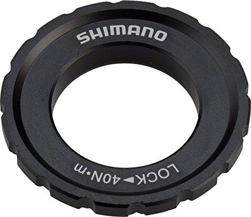 SHIMANO XT M8010 Centerlock Rotor Lockring One Color, 12/15/20mm TA