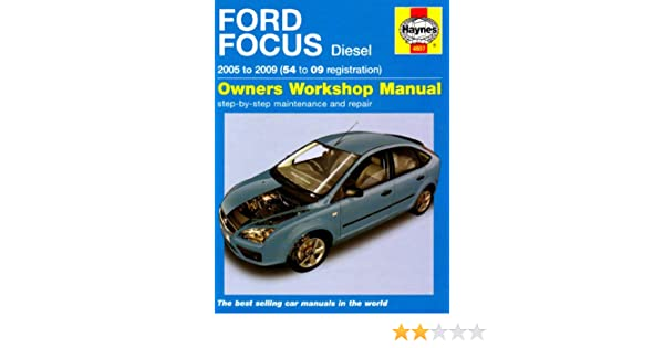 ford focus diesel service and repair manual 2005 to 2009 haynes rh amazon com 2005 Ford Freestar 2005 Ford Focus ZX4 Manual