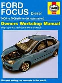 ford focus diesel service and repair manual 2005 to 2009 haynes rh amazon com 2000 Ford Focus Manual Book 2000 Ford Focus Rims