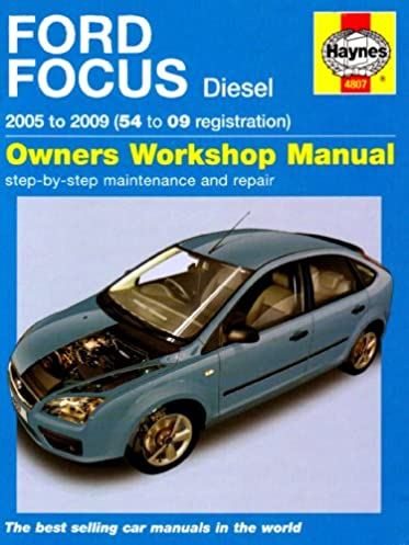 ford focus diesel service and repair manual 2005 to 2009 haynes rh amazon com 2009 ford focus repair manual free 2009 ford focus repair manual