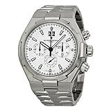Vacheron Constantin Overseas Chronograph Silver Dial Mens Watch 49150/B01A-9095