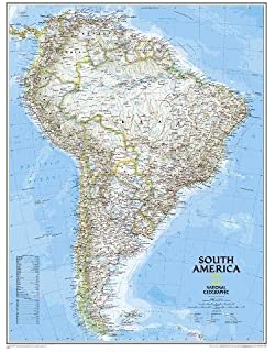 United States Classic Tubed National Geographic Reference Map - Laminated us road map