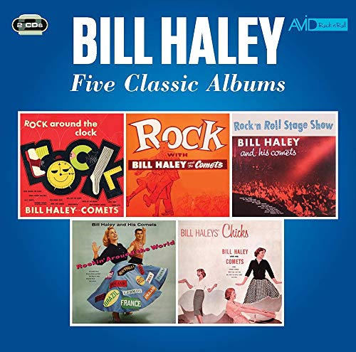 Rock Around The Clock / Rock With Haley / Rock N Roll Stage / Rockin Aound World / Haley's Chicks