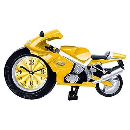 Amazon.com: Fezale 3 Style Motorcycle Alarm Clock Plastic ...