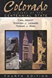 Front cover for the book Colorado: A History Of The Centennial State by Carl Abbott
