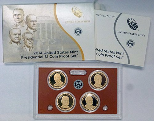 2014 S US Mint Presidential Dollars Proof Set