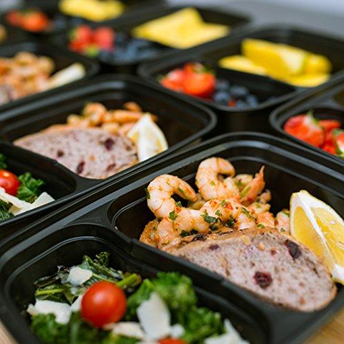 bento lunch box set meal prep food storage restaurant containers plasti. Black Bedroom Furniture Sets. Home Design Ideas