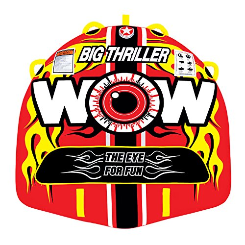 WOW World of Watersports, 11-1070 Big Thriller Towable, 1 or 2 Person
