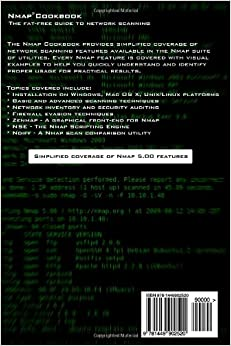 THE COOKBOOK PDF FAT-FREE TO GUIDE NETWORK SCANNING NMAP