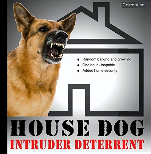 Detect Sensor - House Dog - Barking and Growling Sounds for Added Home Security