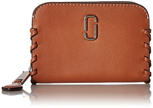 noho zip card case credit card holder caramel cafe one size by marc jacobs - Zip Card Holder