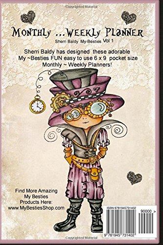 Amazon Sherri Baldy My Besties Monthly Weekly Planner Vol 1