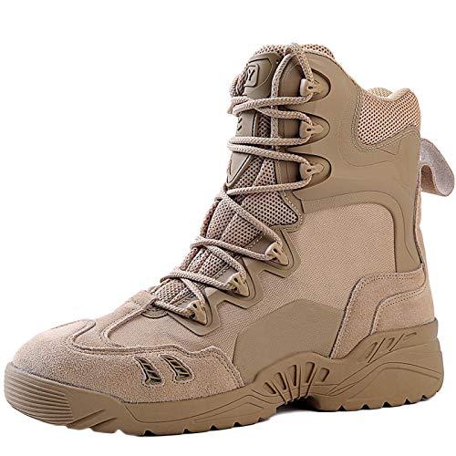 Desert Help sotto Leggero Boots Speciali Combat Stivali Outdoor High Armatura Uomo Nero Traspirante da Forze Tattici Stivali Sandcolor Combattimento EvqxzwTzC