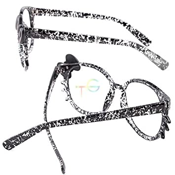 3519964c7b S9Q Cute Kitty Cat Womens Lovely Fashion Glasses Black Bow Frame Cosplay  Lens Grey by Generic  Amazon.ca  Home   Kitchen