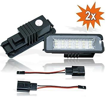Iluminación led para matrícula con certificado E: Amazon.es: Coche y moto