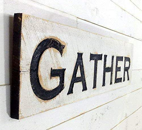 Amazon.com: Gather Sign Horizontal