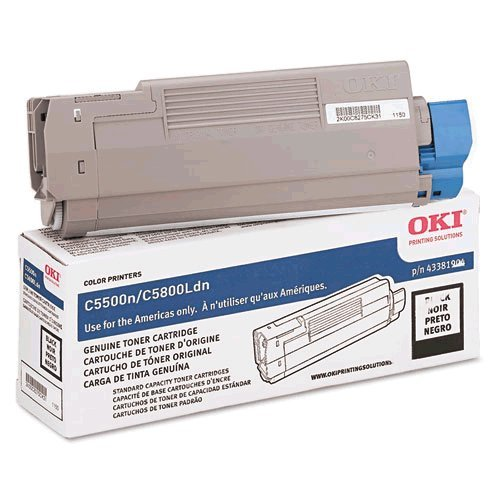 Okidata 43381904 Laser Toner Cartridge for Oki C5500/5800, Office Central