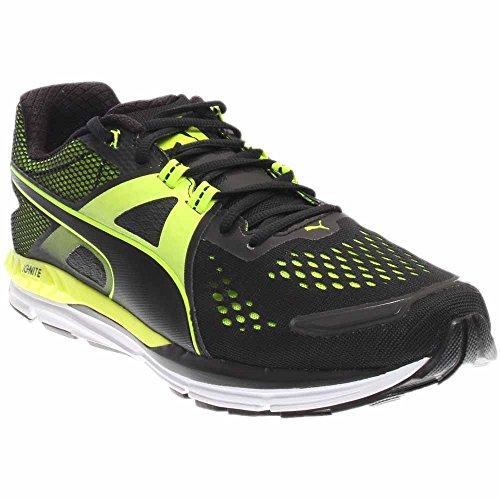 Puma Men's Speed 600 Ignite Running Shoes Puma Black/Safety Yellow 11.5 D(M) US