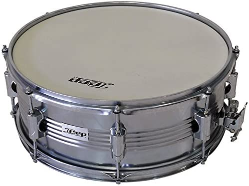 Deep SD5CH - Marching snare drum Caja de Batería tambor de acero inoxidable y con bordon de 14