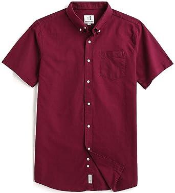 a4c70fdb28468b Amazon.com  Men s Short Sleeve Oxford Button Down Casual Shirt  Clothing