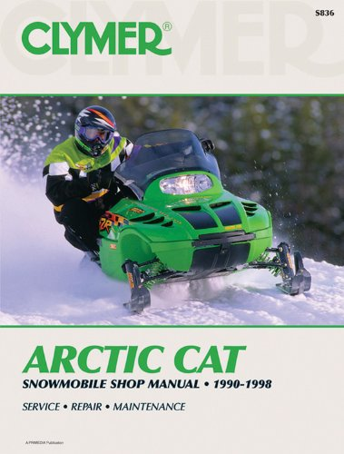 Clymer Arctic Cat : Snowmobile Shop Manual 1990-1998