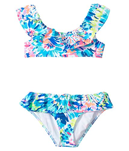 Lilly Pulitzer Kids Baby Girl's Christa Bikini (Toddler/Little Kids/Big Kids) Multi Dive In Swimsuit Set