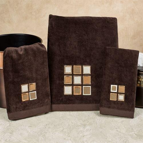 Famous Home Fashions Inc Modena Bath Towel Set Espresso Bath Hand (Espresso Machine Catalog)