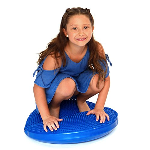 (WALIKI Stability Wobble Cushion | Exercise Balance Disc Board (60cm/24in Blue))