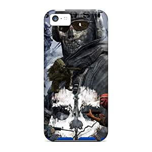 ChristopherWalsh Iphone 5c High Quality Hard Phone Case Unique Design Fashion Call Of Duty Ghosts Series [qyF8318xpQj]