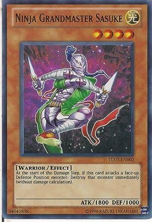 Amazon.com: Yu-Gi-Oh. – Ninja Grandmaster Sasuke (tu07-en002 ...