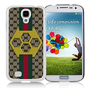 Fashionable And Beautiful Designed Case For Samsung Galaxy S4 I9500 i337 M919 i545 r970 l720 With GU CCI 30 White Phone Case