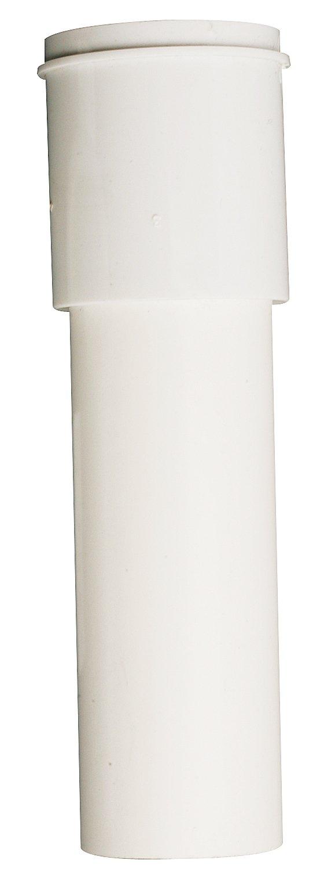 1-1//2 x 6 1-1//2 in Dia X 6 in L Solvent Weld Plumb Pak PP910W Extension Tube White Plastic