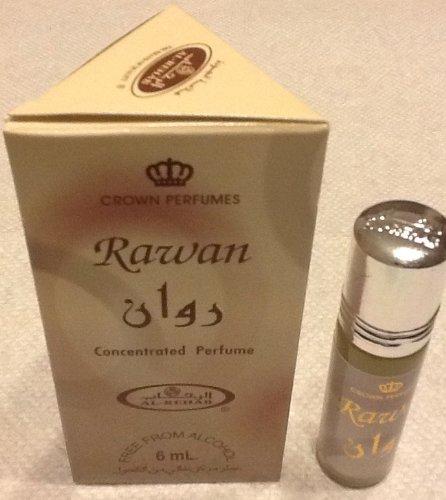 Раван - 6 мл (0,2 унции) Духи Нефть Аль-Rehab (Crown отдушки) (1 х 6 мл (1 шт))