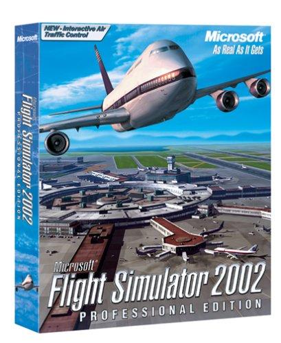 Microsoft Flight Simulator 2002 Professional PC