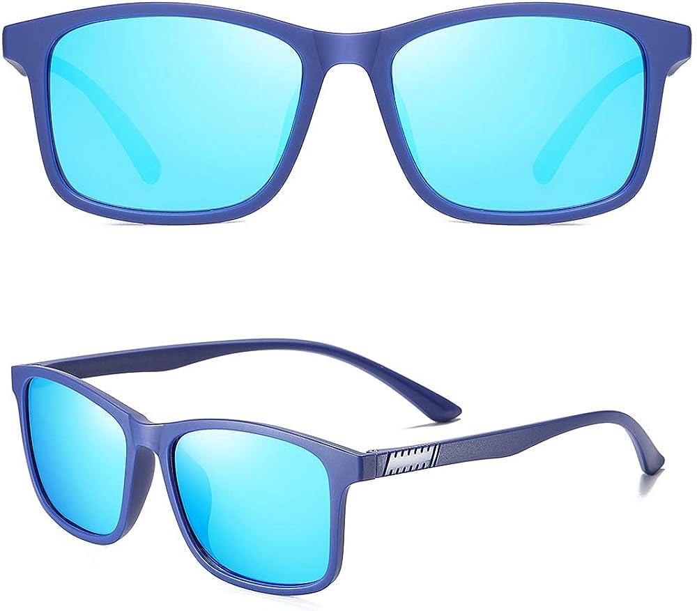 Mens Ray Sunglasses Polarized Womens UV 400 Protection 55MM