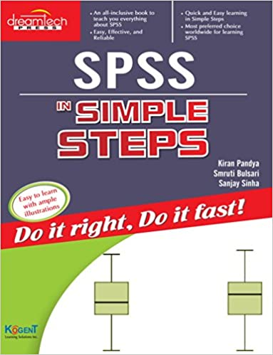 Buy SPSS in Simple Steps Book Online at Low Prices in India