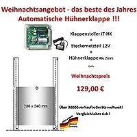 JOSTechnik Weihnachtsangebot-automatische Hühnerklappe+Klappe Preis des Jahres!!