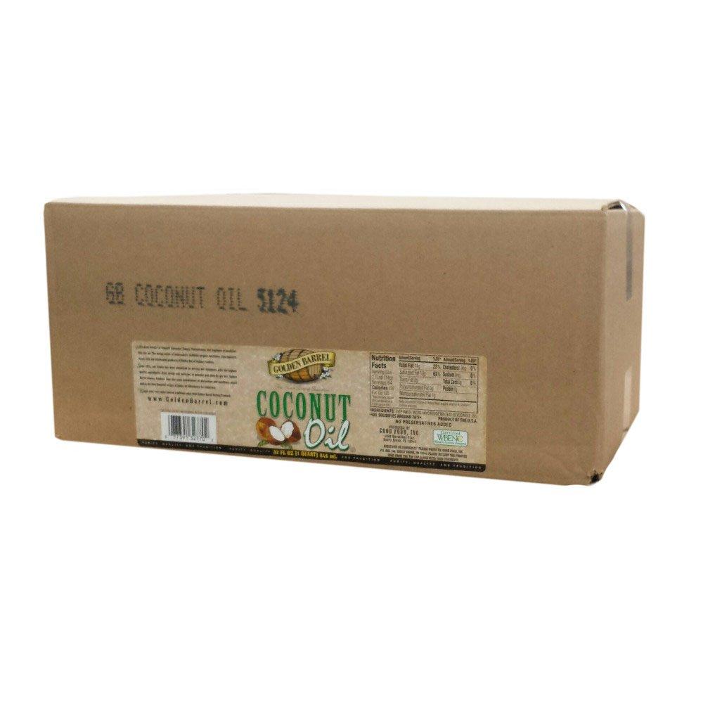 Golden Barrel Coconut Oil (12/32 fl. oz. Case)