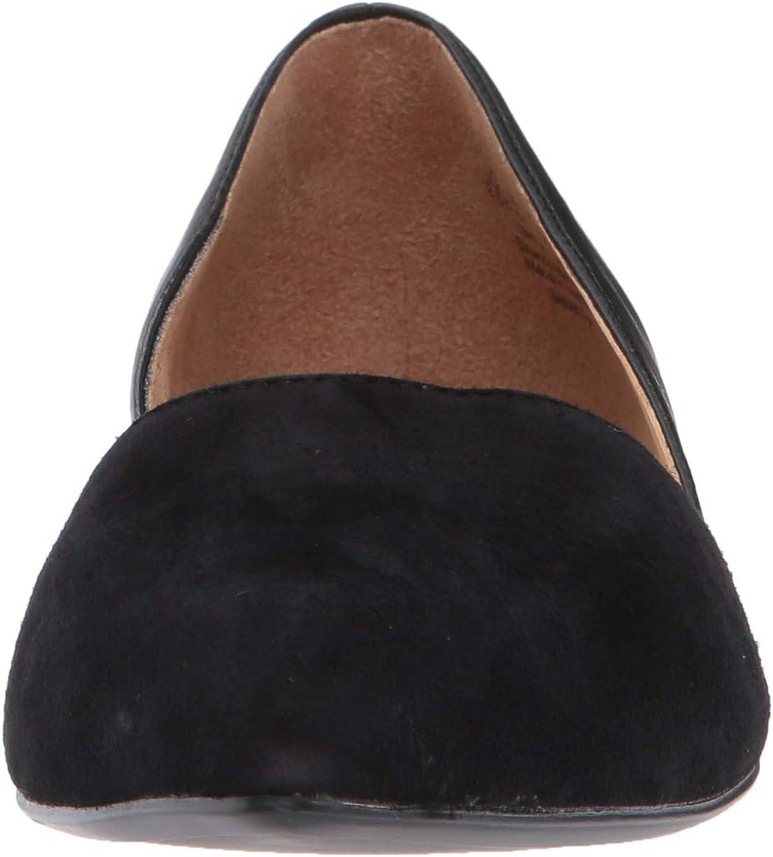 Naturalizer Women's Samantha Suede Ankle-High Flat Shoe Pelle Nera E Scamosciata arWXZY