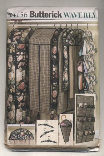 Amazon Butterick 4156 Closet Accessories Garment Bags Sewing