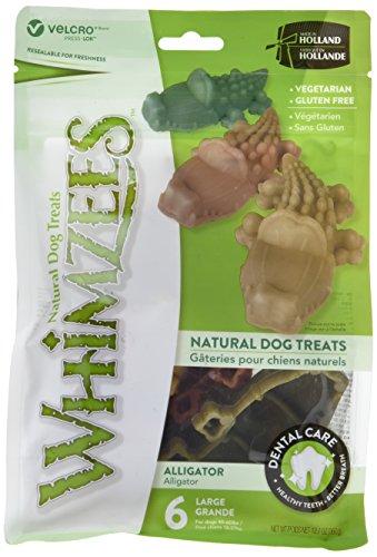 Whimzees WHZ307 Alligator Doggie Dental product image