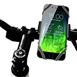 Koomus BikePro Smartphone Bike Mount Holder Cradle for iPhone 6 6 Plus 5S 5C 5 Samsung Galaxy and all Smartphones - Retail Packaging - Black
