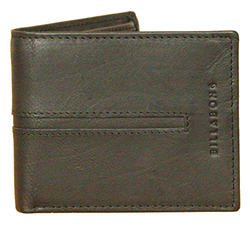 Billabong Wallet Womens - Billabong Leather Bi-fold Wallet with CC, Note and Coin Pockets ~ Empire Snap