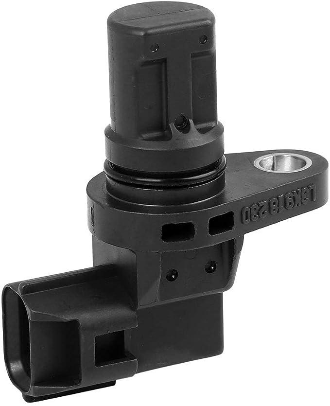 sourcingmap 12 14 7 518 628 Camshaft Position Sensor Black Fit for Car